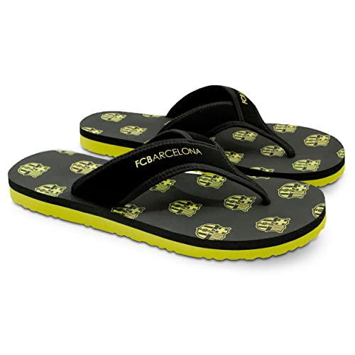 266c0b94e1eeb FC Barcelona Men Flip-Flop Sandal – Water-Resistant Slippers for Pool    Beach