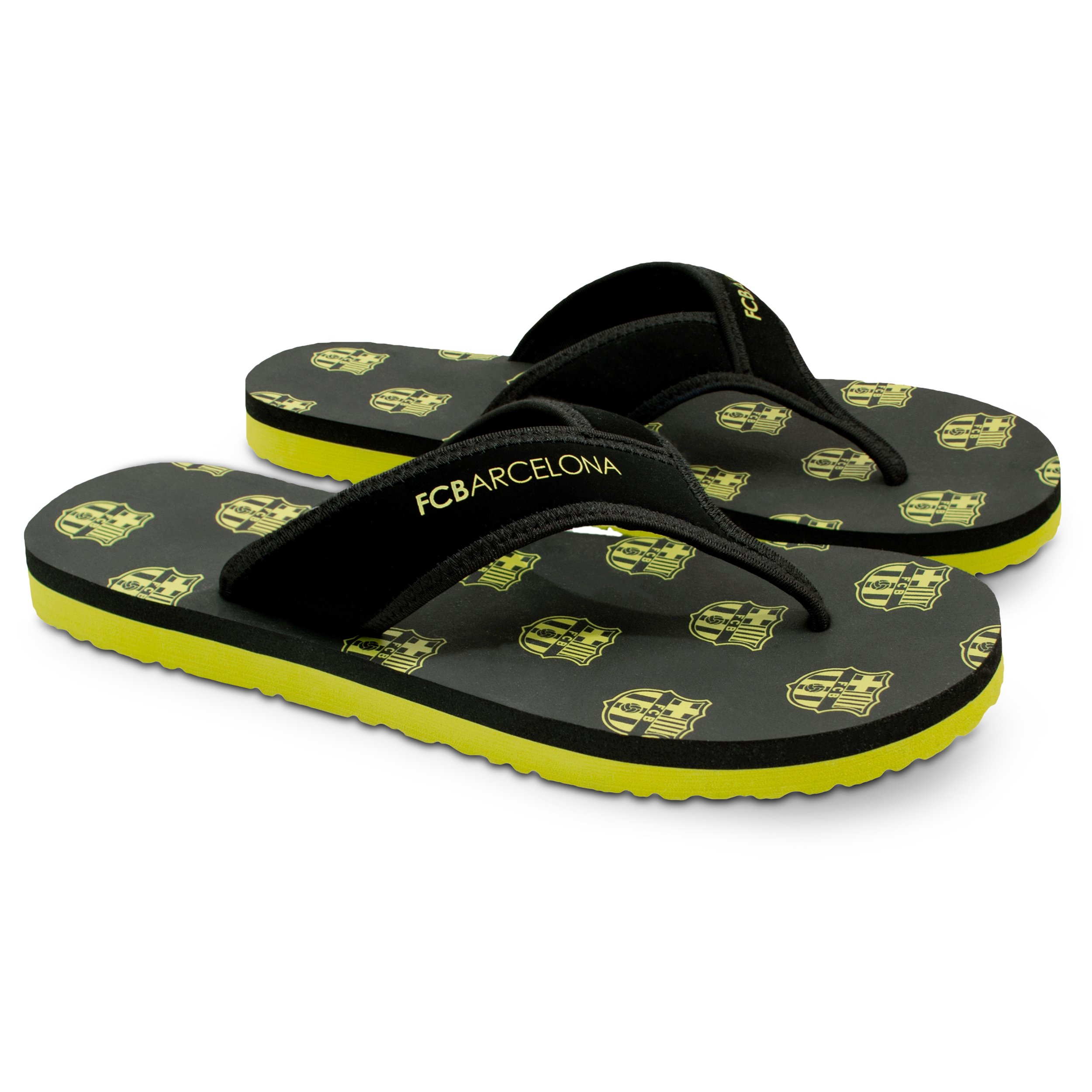 FC Barcelona Men Flip-Flop Sandal – Water-Resistant Slippers for Pool & Beach
