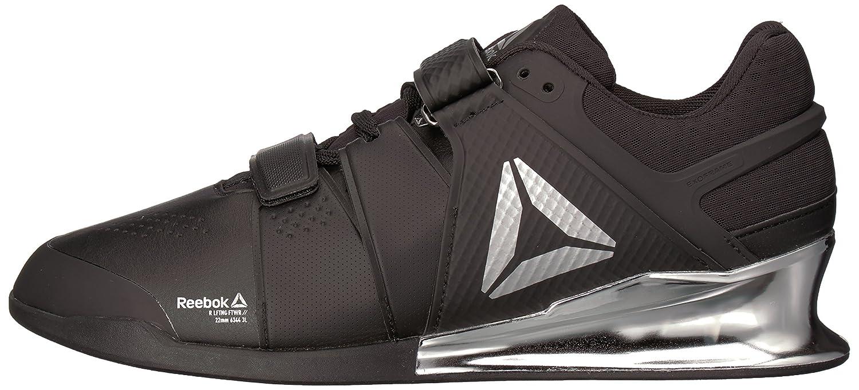Reebok Men's Legacy Lifter Sneaker, BlackWhiteSilver, 14 M