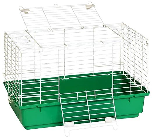 Miller Manufacturing Jaula para conejo con base de plástico ...