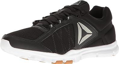 New Men/'s Reebok Yourflex Train 9.0 MT Sneaker Running Shoes Black Gray 10.5 11