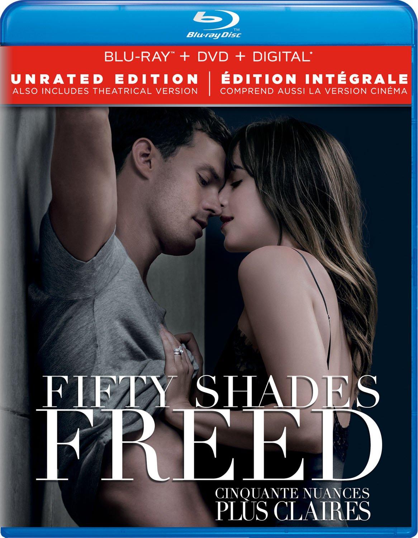 Fifty Shades Freed Blu-ray + DVD + Digital Bilingual: Amazon.ca: Jamie  Dornan, Dakota Johnson, Jamie Dornan;Dakota Johnson: DVD