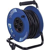 Emos - Carrete alargador de Cable con Cable