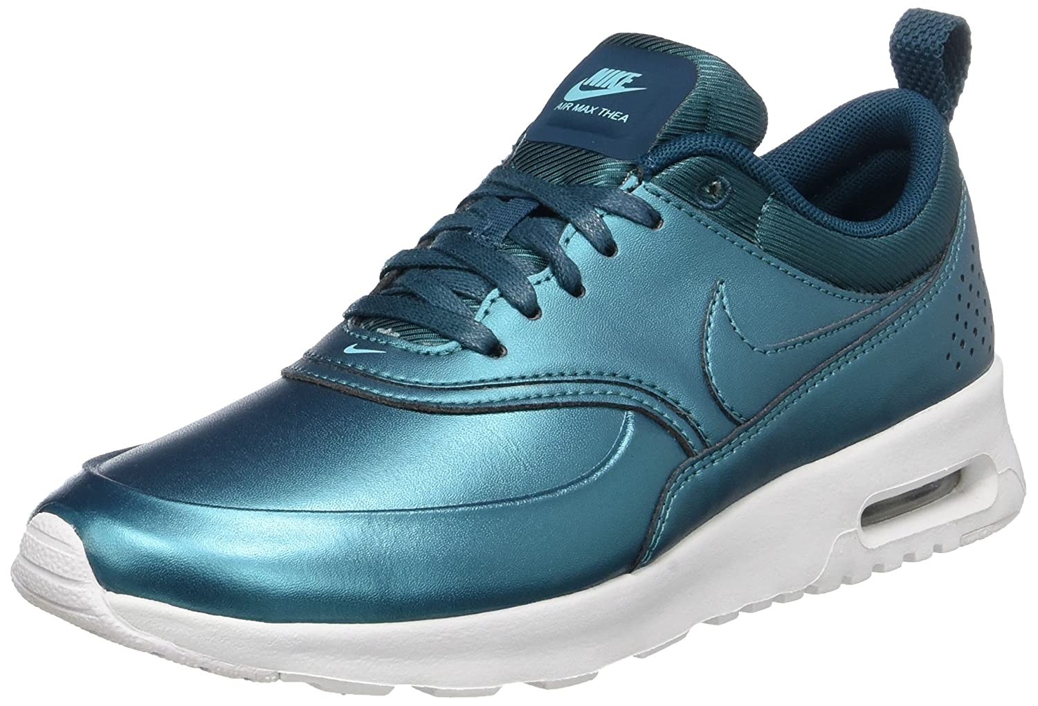 NIKE Women's Air Max Thea SE Running Shoe B01M2YEGWC 6.5 M US|Metallic Dark Sea / Metallic Dark Sea