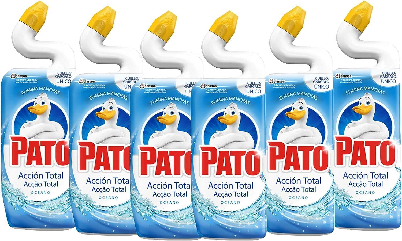 Pack 6 botellas Pato Wc 5 en 1 Acción Total