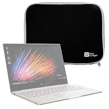 "DURAGADGET Funda Negra De Neopreno para Portátil Xiaomi Mi Notebook Air 12.5"" / 13.3"""