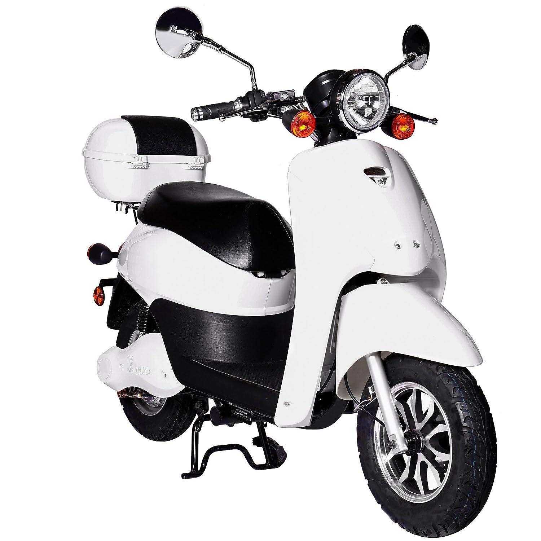 Rolektro Elektroroller Retro Light 40 V.2 1200W Motor 60KM Reichweite 40 Km//H EU-Zulassung