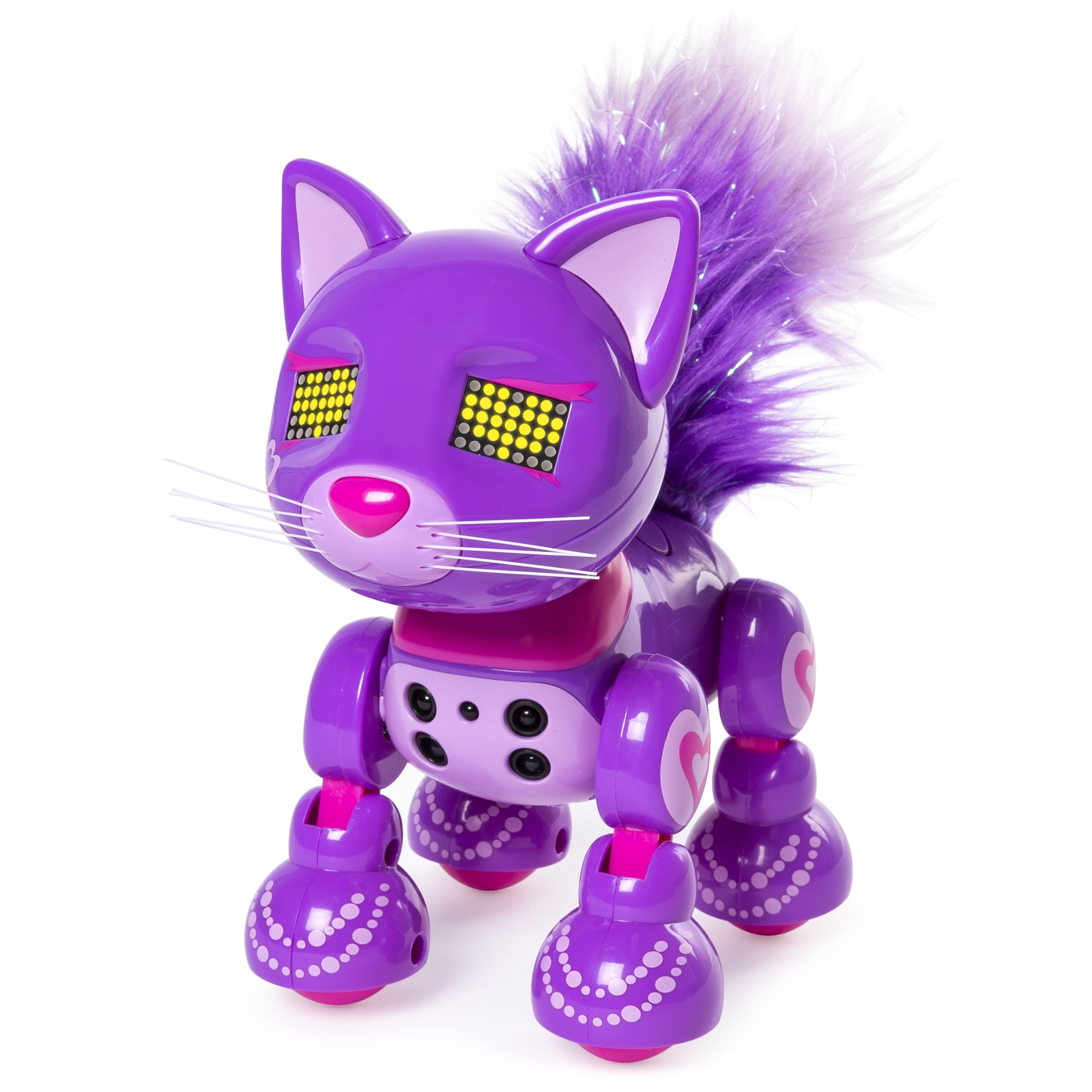 Zoomer Meowzies, Posh, Interactive Kitten with Lights, Sounds and Sensors by Zoomer (Image #3)