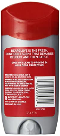 Amazon.com: Desodorante para hombre de Old Spice, Wild ...