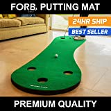 FORB Home Golf Putting Mat (10ft Long) - Improve Your Putting Stroke In Your Own Home! [Net World Sports]