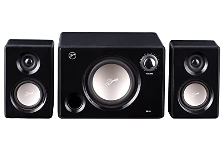 Swans M10 (Black) Multimedia Speaker Systems at amazon