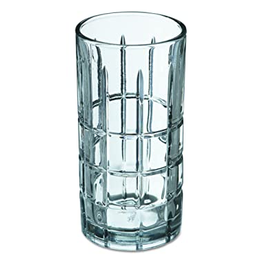 Anchor Hocking Manchester/Tartan 16-Ounce Large Tumblers, (Pack of 12)
