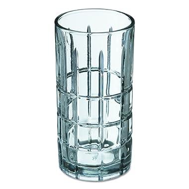 Anchor Hocking Manchester Highball Drinking Glasses, 16 oz (Set of 12)