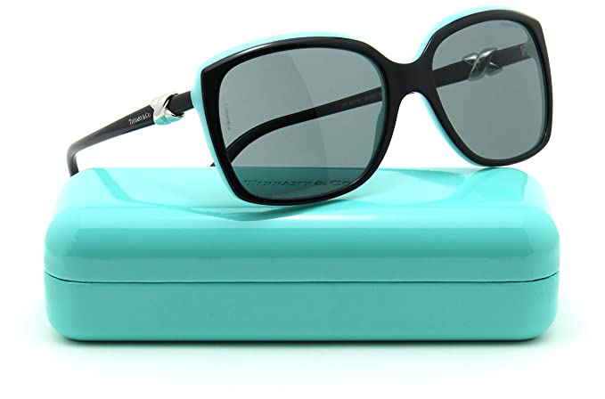 4033ecab06 Amazon.com  Tiffany   Co. TF 4076 Womens Square Sunglasses Black ...