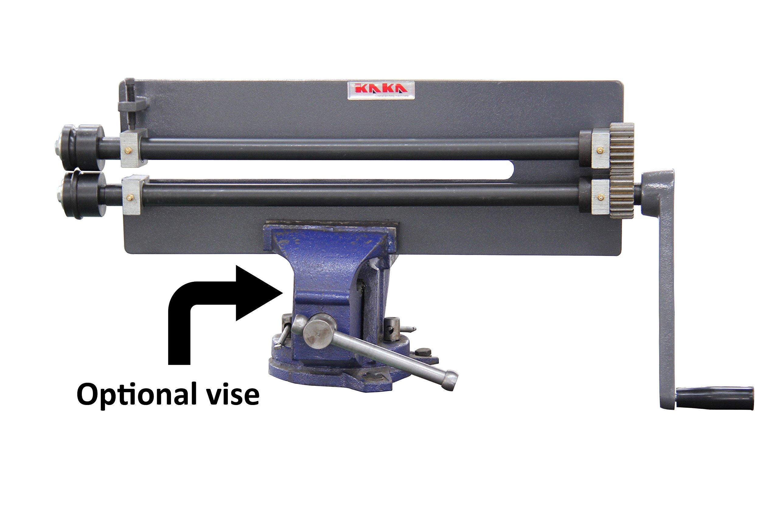 KAKA Industrial RM-18 Rotary Machine, 18'' Throat Depth Sheet Metal Fabrication Bead Roller by kakaindustrial