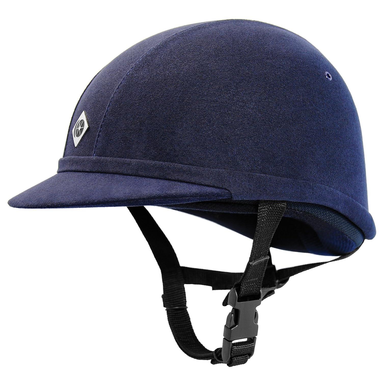 Charles Owen YR8/Equitaci/ón Sombrero/ /Azul marino
