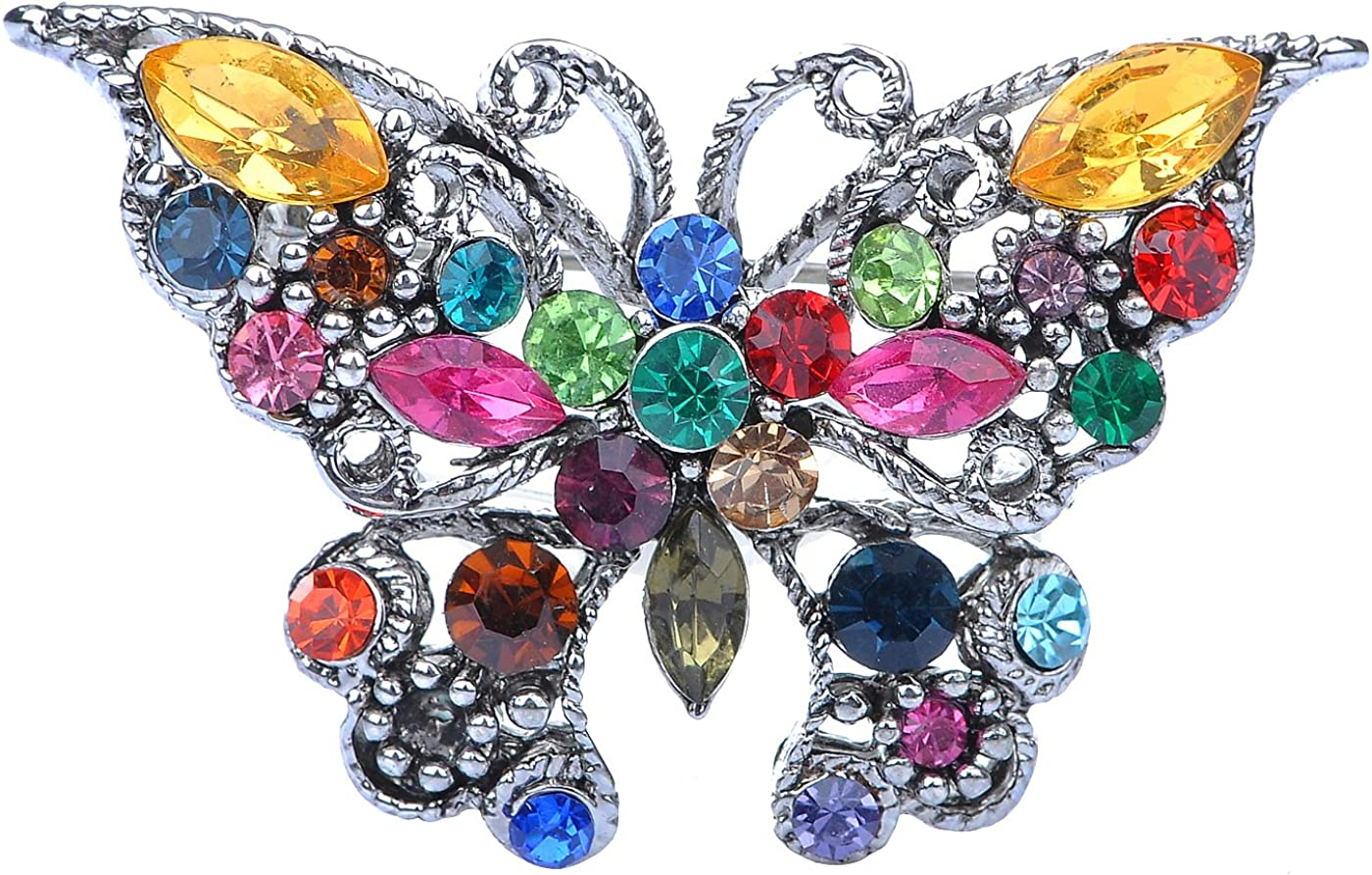 Colored Wings Rainbow Parure