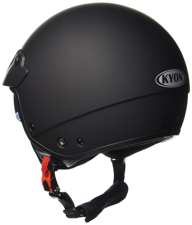 Protectwear Jet helmet H740 with integrated sun visor and shield matt black Size XL