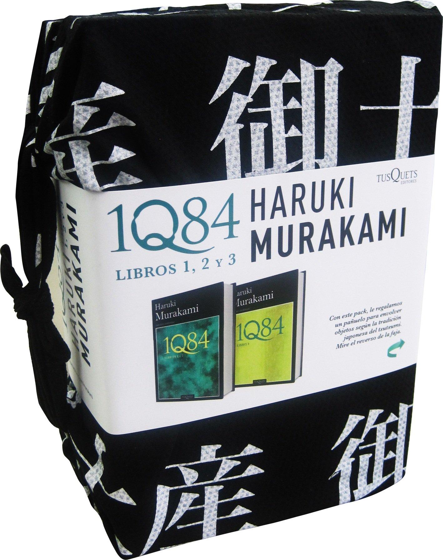 1Q84. Pack libros 1, 2 y 3 (Andanzas): Amazon.es: Murakami, Haruki: Libros