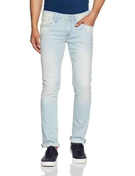 fcf7c9bd52 Flying Machine Men s Slim Fit Jeans (FMJN9533 Blue 36)  Amazon.in  Clothing    Accessories