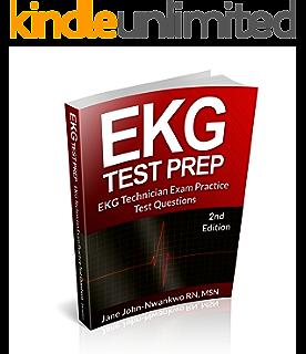 Amazon ekg test prep ekg technician exam preparation series ekg test prep 2nd edition fandeluxe Gallery