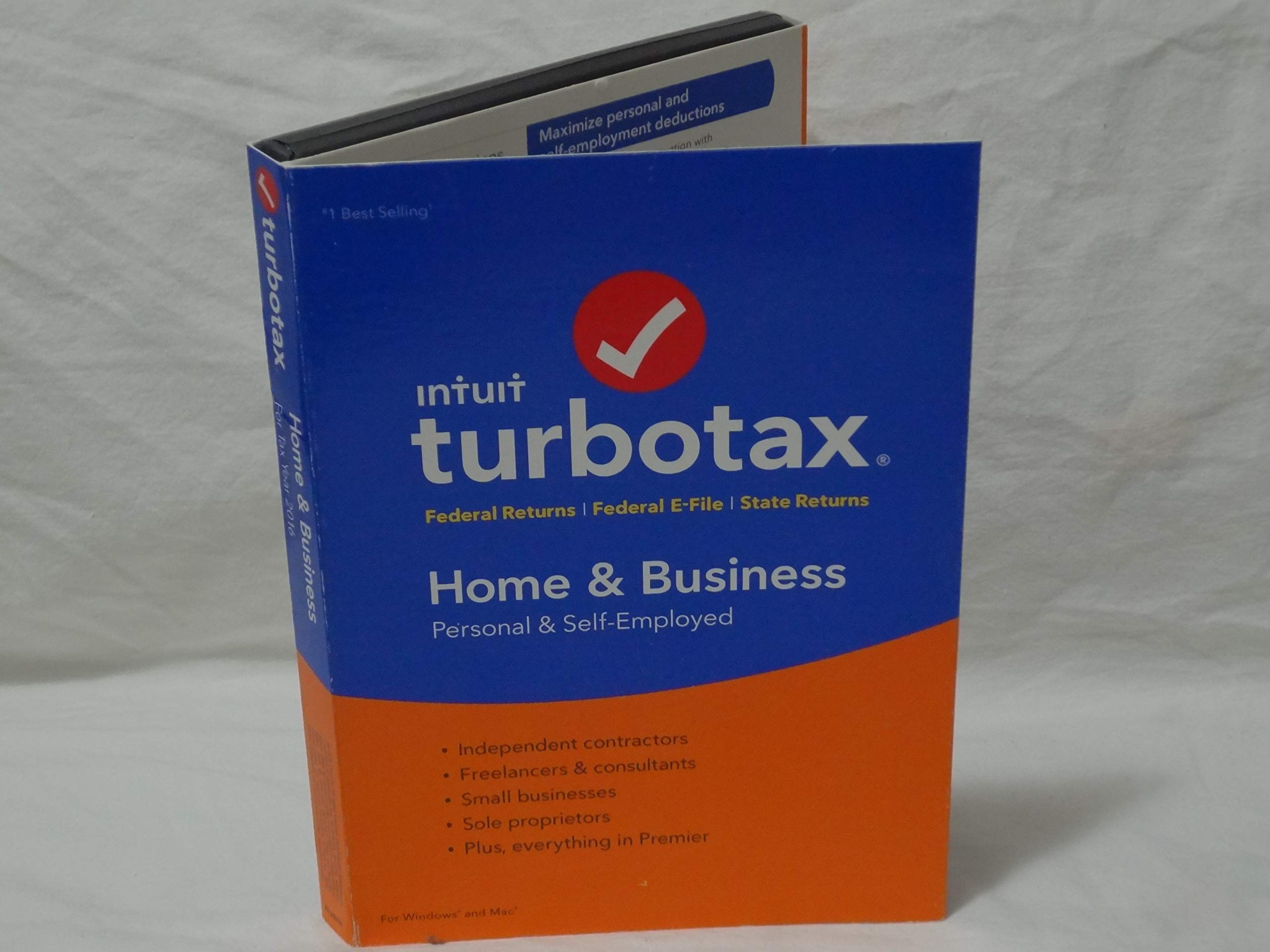 TurboTax Home & Business 2016 . BRAND NEW SEALED. Turbo Tax Year 2016 Buyer's Choice by TurboTax