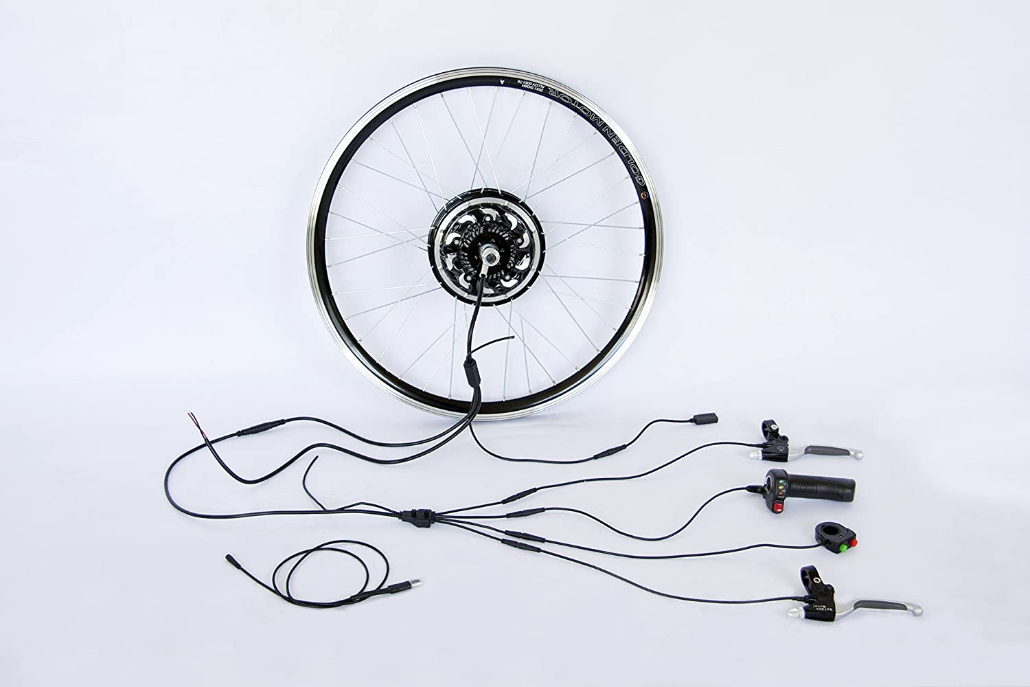 Ce Approvedgolden Motor Electric Bike Conversion Kit Motorcycle Horn 24v Wiring Diagram Golden Smart Pie 5 Ebike With Sine Wave Programmed Controller And Bluetooth Connection 25km H Power