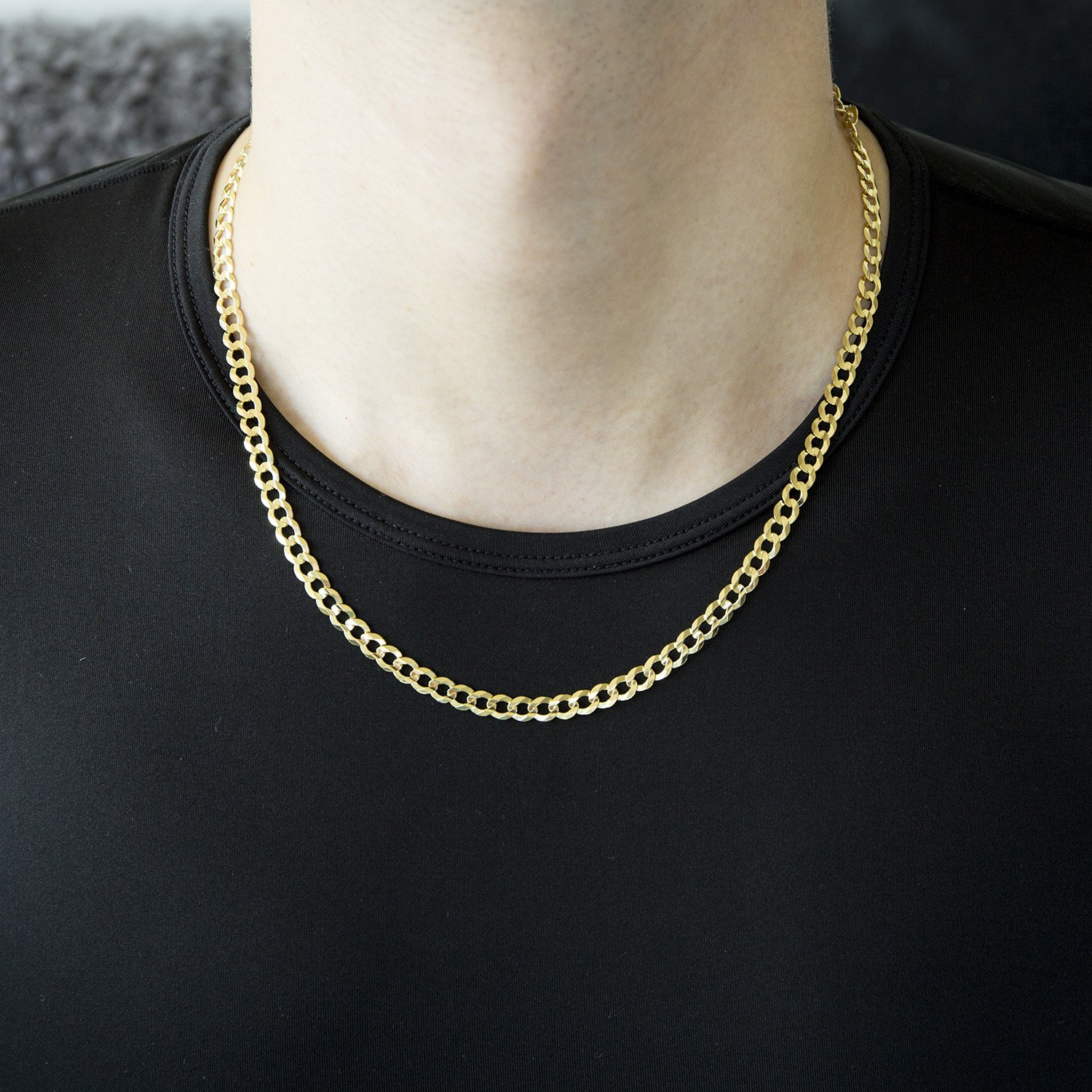 trendy from curb jewelry hip chain plated on cuban hop necklaces men item accessories in for link necklace franco gift gold color mens