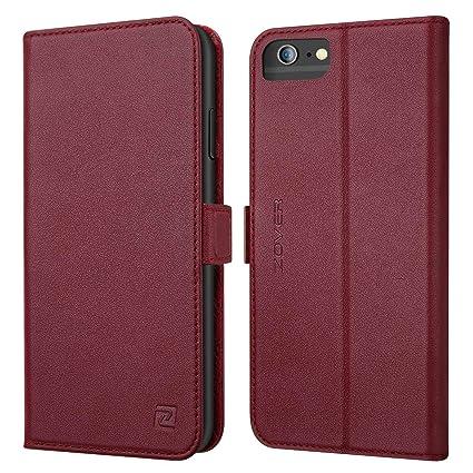 Amazon Com Zover Iphone 6s Case Iphone 6 Case Genuine Leather Case