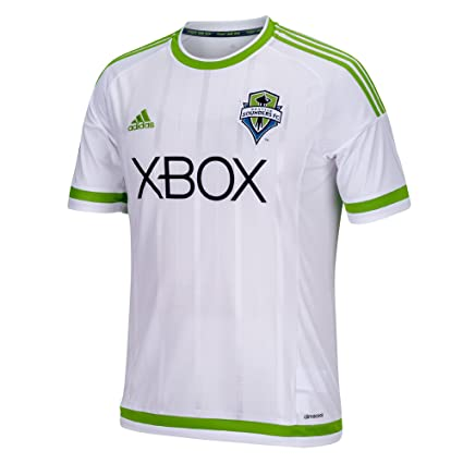 quality design 3c199 05f36 adidas MLS Seattle Sounders FC Men's Replica Short Sleeve Jersey