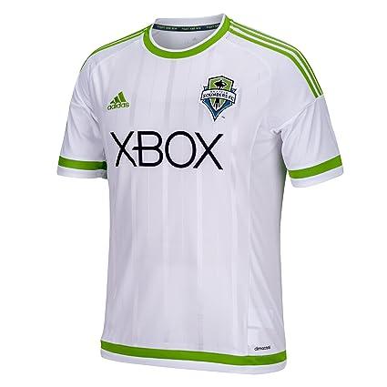 quality design 57a50 e79d3 adidas MLS Seattle Sounders FC Men's Replica Short Sleeve Jersey