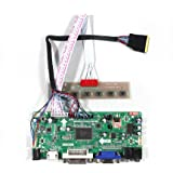 "VSDISPLAY HDMI VGA DVI Audio LCD Driver Board For 15.6'' 17.3"" LP156WD1 LP173WD1 1600x900 LED Backlight 40Pin LCD Panel"