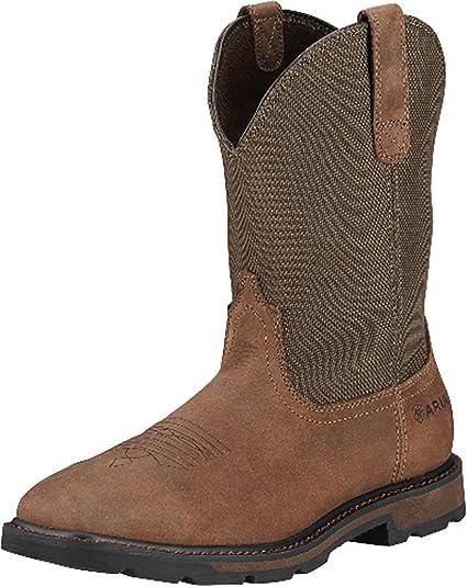 ce2818314 Ariat Men s Groundbreaker Wide Square Steel Toe Work Boot  Amazon.co.uk   Shoes   Bags