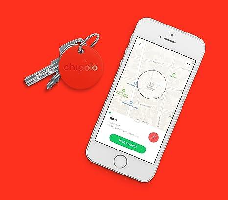 Nueva Chipolo Classic 2.0 Smart llavero Teléfono Bluetooth tracker, localizador, Buscador de Llaves,