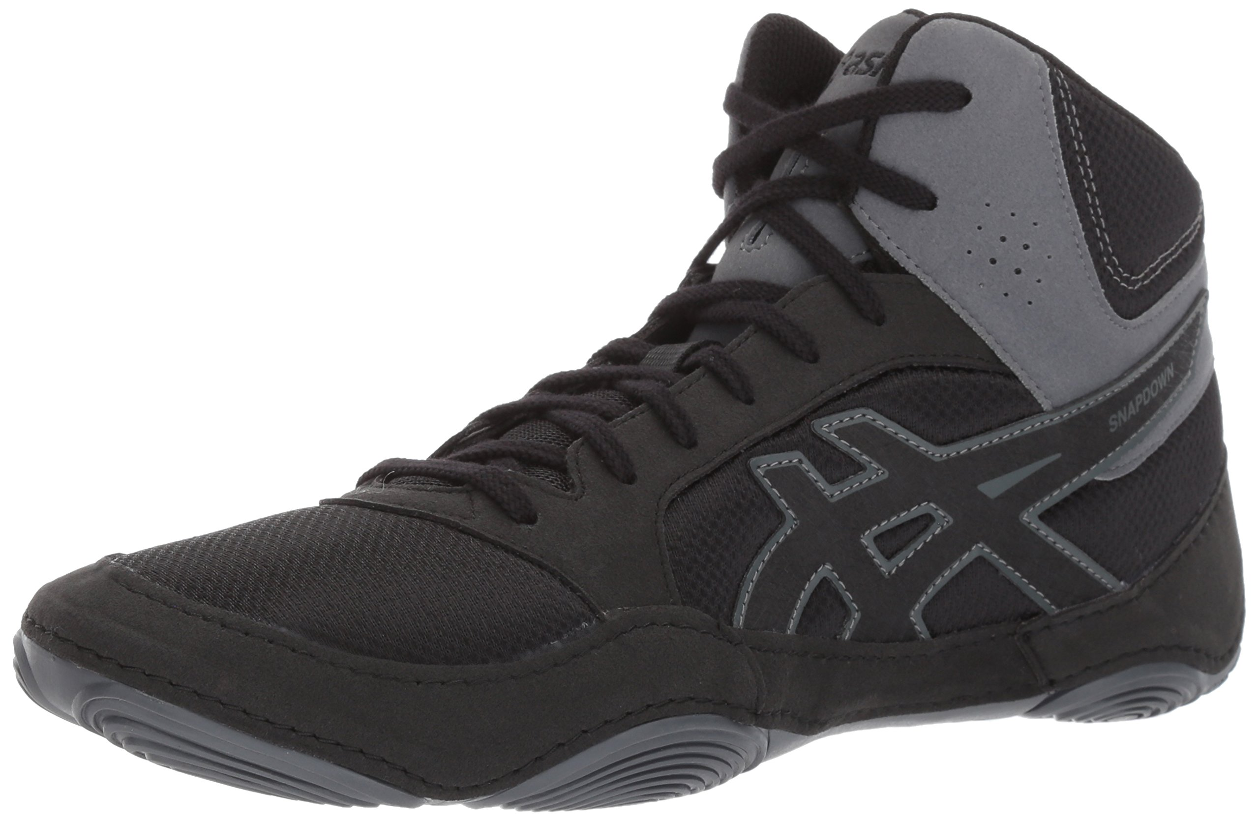 ASICS Men's Snapdown 2 Wrestling-Shoes, Black/Black/Carbon, 10 Medium US