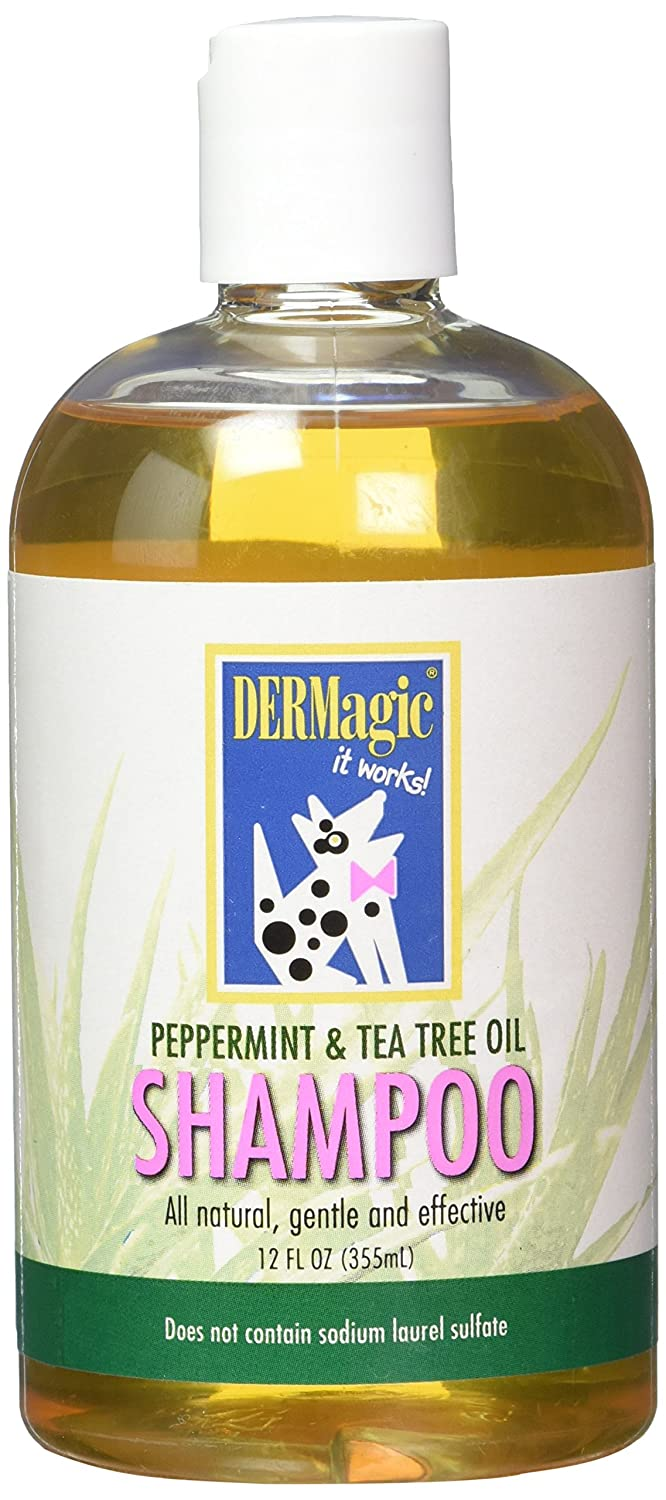 Peppermint Tea Tree Oil Shampoo DERMagic Peppermint Tea Tree Oil Shampoo (12 oz)