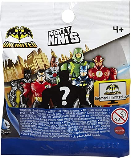 NEW Lot of 10 Batman Unlimited SERIES 2 Mighty Minis Blind Bag Mini Figure
