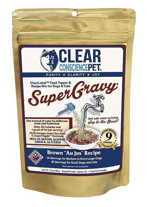 Amazon.com: Conciencia clara Pet supergravy Pet Food ...