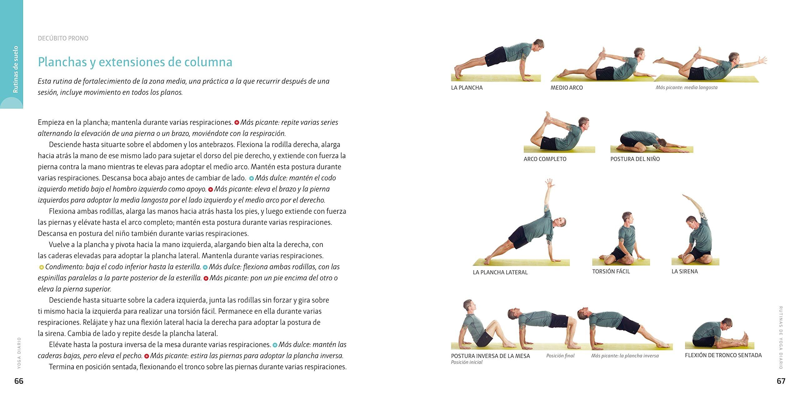 Yoga diario : secuencias de asanas pensadas para hacerlas en ...