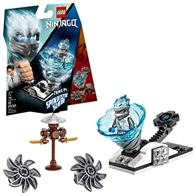 LEGO NINJAGO Spinjitzu Slam Zane 70683 Building Kit (63 Pieces): Toys & Games