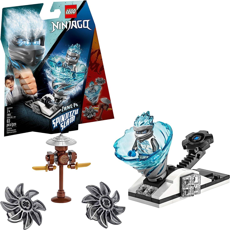 LEGO NINJAGO 70684 Eis-Samurai Kreisel Spinner Spinjitzu Slam – Kai vs