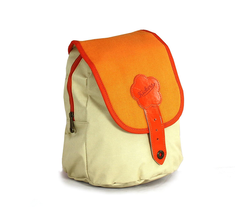 66b02e1e6f charmant Kickers Cartable 5 L, Beige/Orange - www.cvsshop.xyz