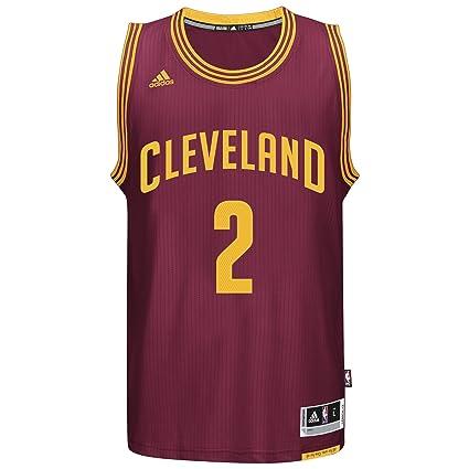 best website f88fe 750fd adidas Kyrie Irving Men's Maroon Cleveland Cavaliers Swingman Jersey