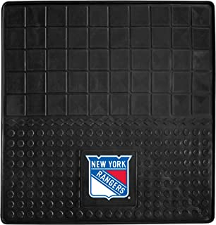 product image for Fanmats 13860 NHL New York Rangers Front Row Vinyl/Nylon Deluxe Car Mat - 2 Piece