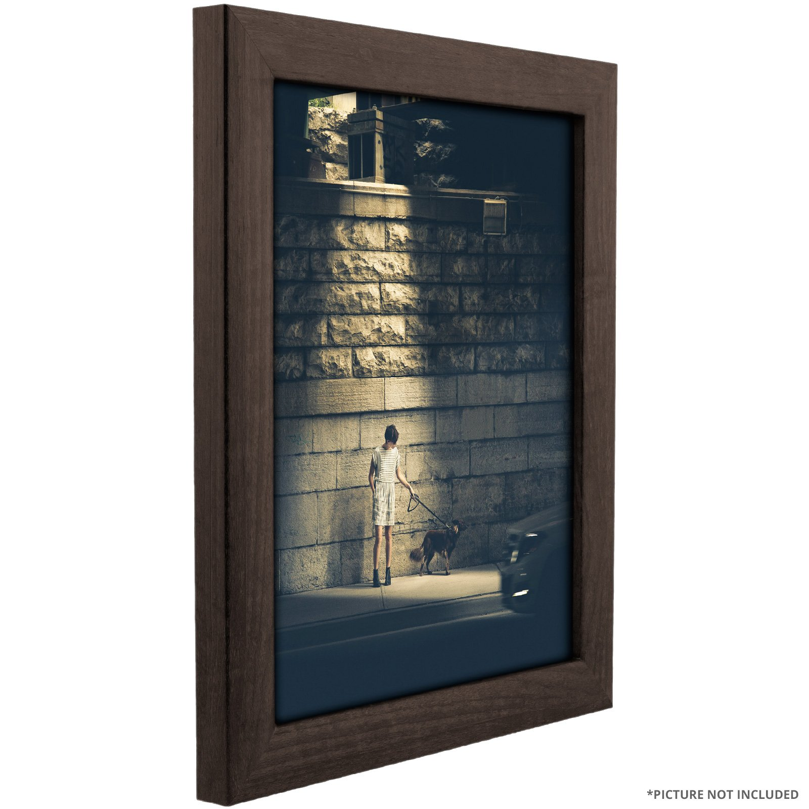 Craig Frames 232477782436AC 1-Inch Wide Picture/Poster Frame in Smooth Wood Grain Finish, 24 by 36-Inch, Brazilian Walnut by Craig Frames (Image #3)