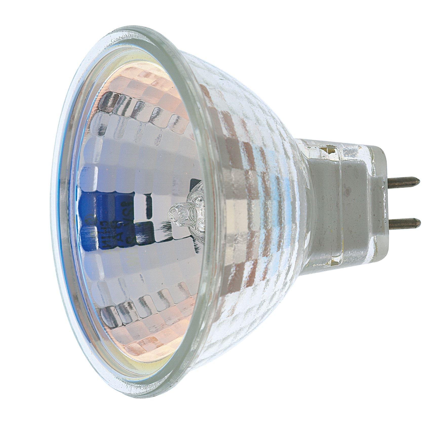 Satco 35MR16/FL Halogen MR Halogen, 35W GU5.3/GX5.3 MR16, Bulb [Pack of 24]