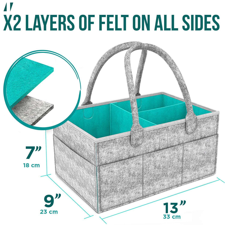 Amazon.com: AURORAS - Organizador de pañales para bebé con ...