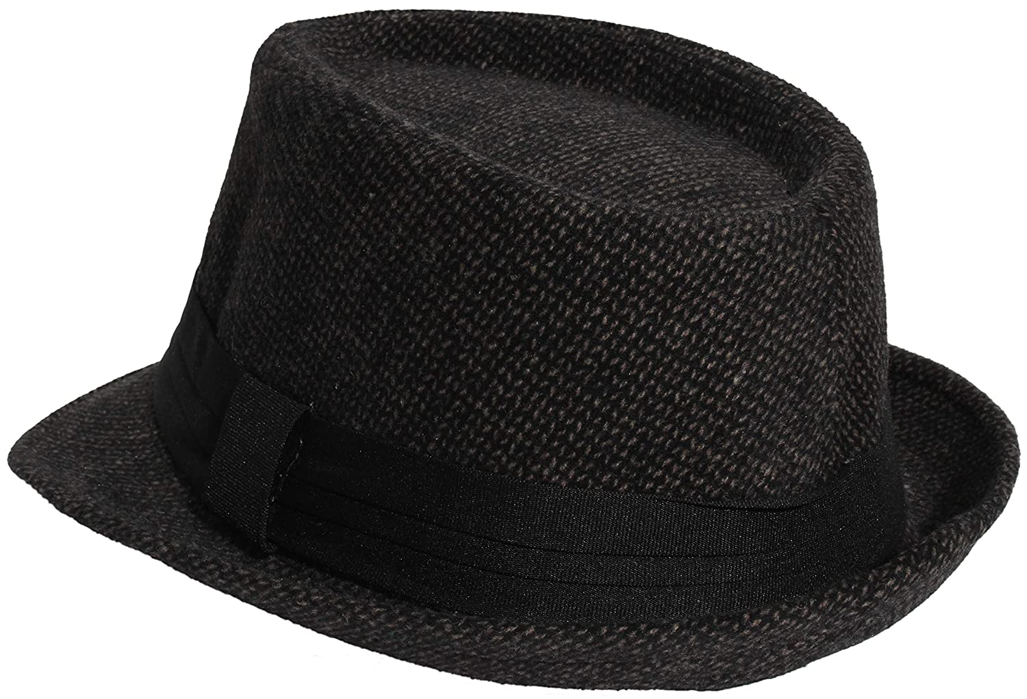 Enimay Unisex Wool Fedora Hat Classic Timeless Light Weight