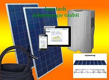 3000watt Solaranlage Komplettpaket 3 Kw Solar Anlage Hausnetzeinspeisung Plug Heimwerker Erneuerbare Energie