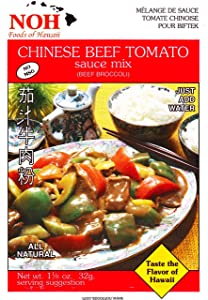 NOH Chinese Beef Tomato, 1.12-Ounce Packet, (Pack of 12)